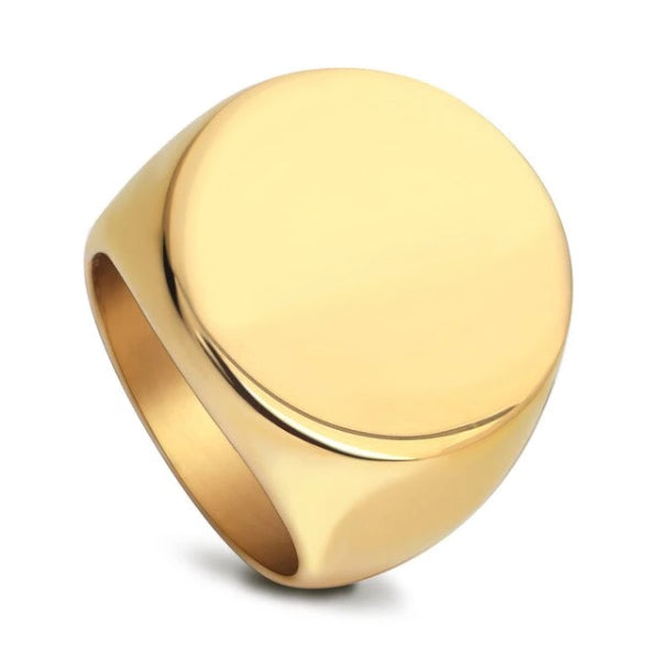 Classy Men Gold 925 Silver Wealth Ring - Classy Men Collection