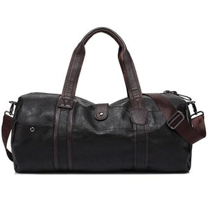Classy Men Leather Weekend Bag - 2 Colors - Classy Men Collection