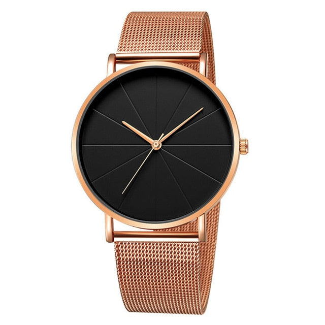 Classy Men Essential Watch Black | 4 Styles - Classy Men Collection