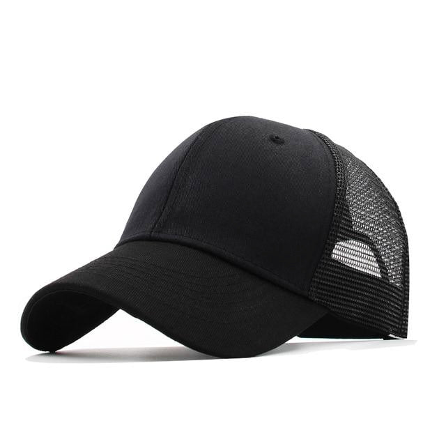 Classy Men Plain Trucker Cap - 9 Colors - Classy Men Collection
