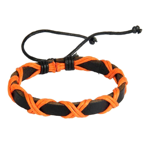 Classy Men Passion Leather Lace-up Bracelet - Classy Men Collection