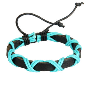 Classy Men Freedom Leather Lace-up Bracelet - Classy Men Collection