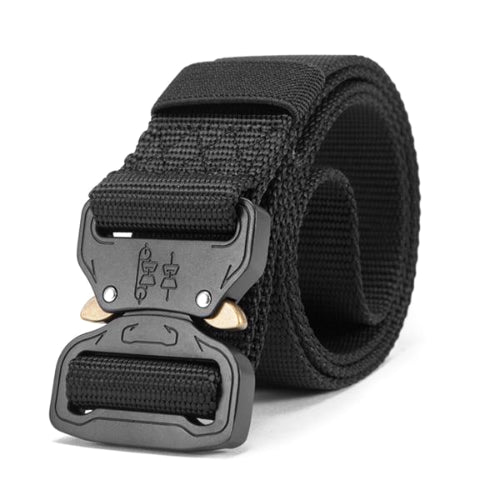 Classy Men Black Tactical Web Belt - Classy Men Collection