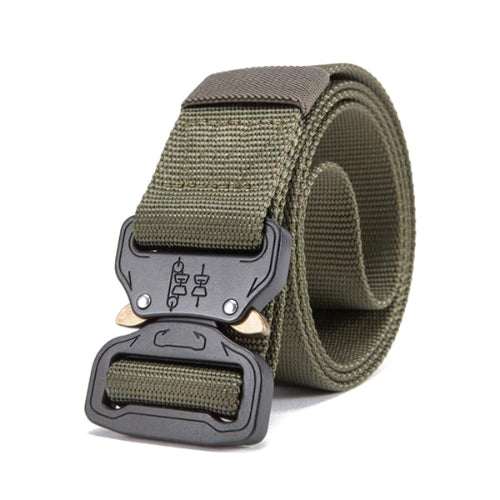 Classy Men Green Tactical Web Belt - Classy Men Collection