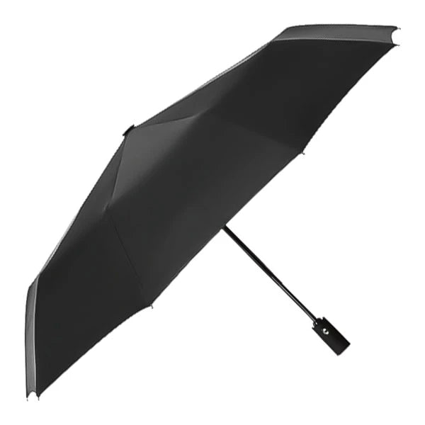 Wine red & black 2 color umbrella side profile