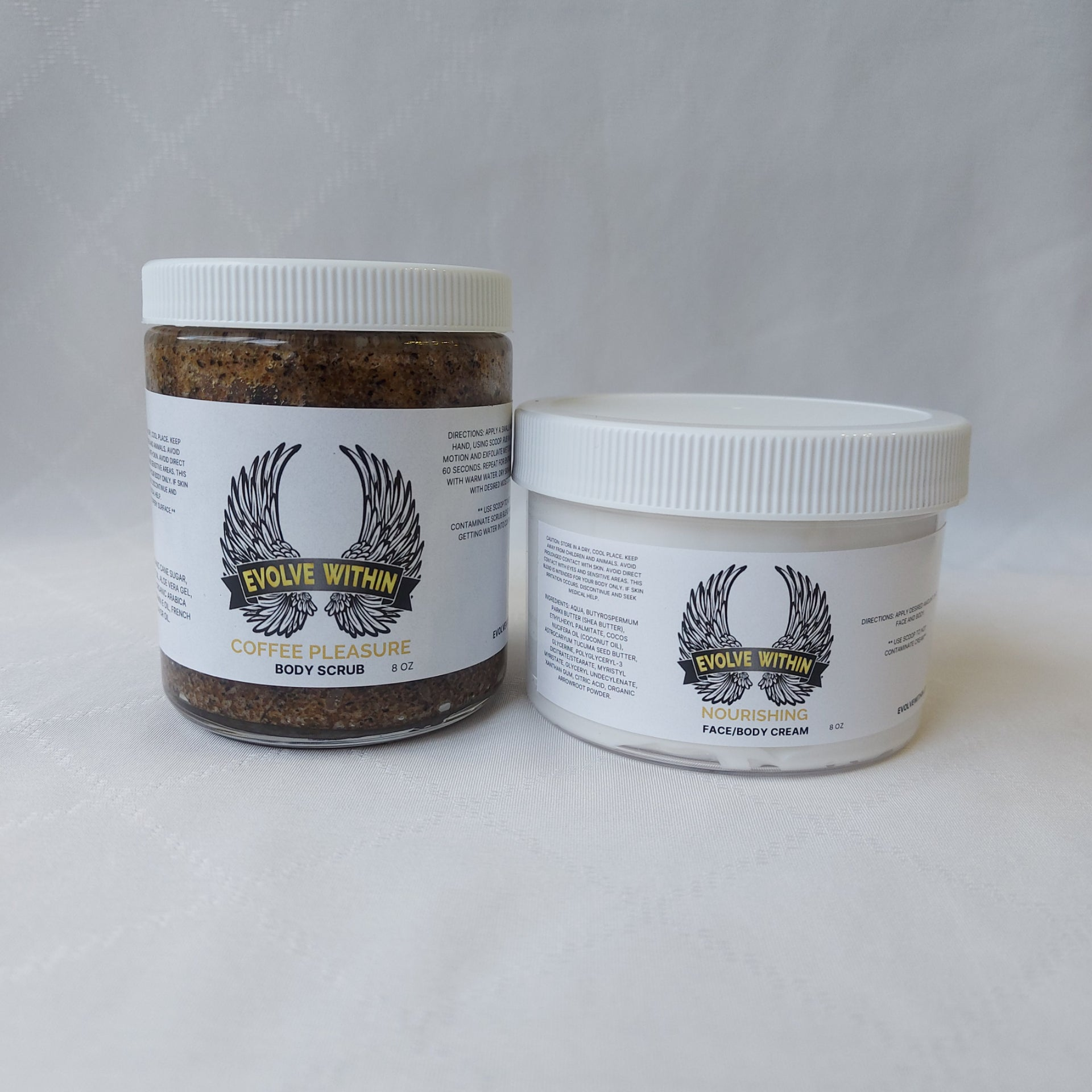 Body Scrub & Face/Body Cream Sets