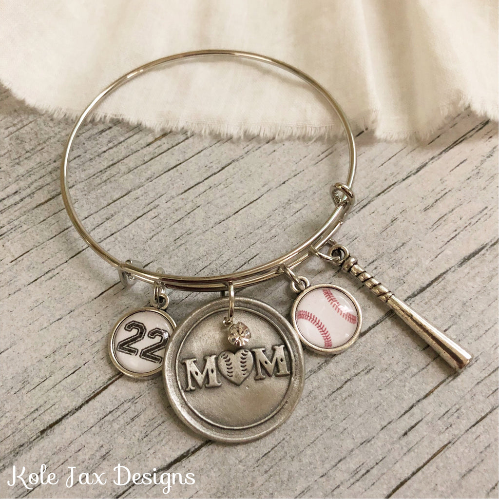 bracelet new shower bangles handmade to gift baby trendy be umbrella mum rocking silver expandable adjustable stacking products charm feet img horse mom wire bangle