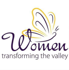 Women transforming the valley with a butterfly