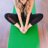 Green Grippz Yoga Mat