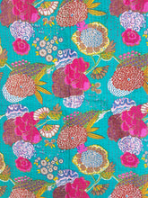 "Floral Kantha Quilts - 90"" x 60"""