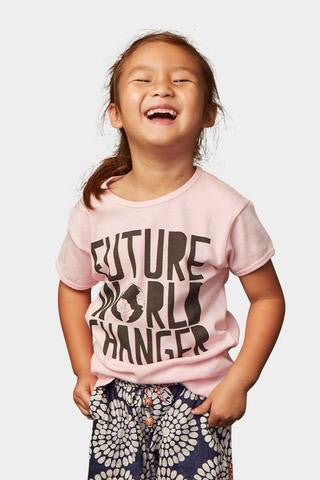 Sudara Girl's Future World Changer Tee