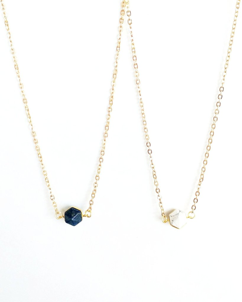 Sophie Necklace - Navy
