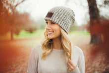 Black Speckled Beanie