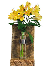 Rustic Wall Bud Vase Sconce