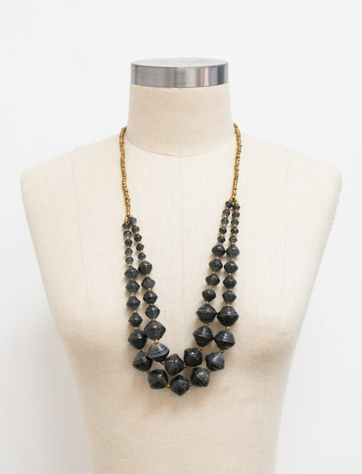 The Voyager Necklace - Black