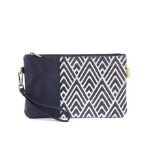 Vegan Clutch - Black A Line
