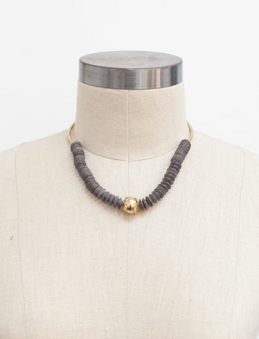 Wandering Star Necklace - Charcoal