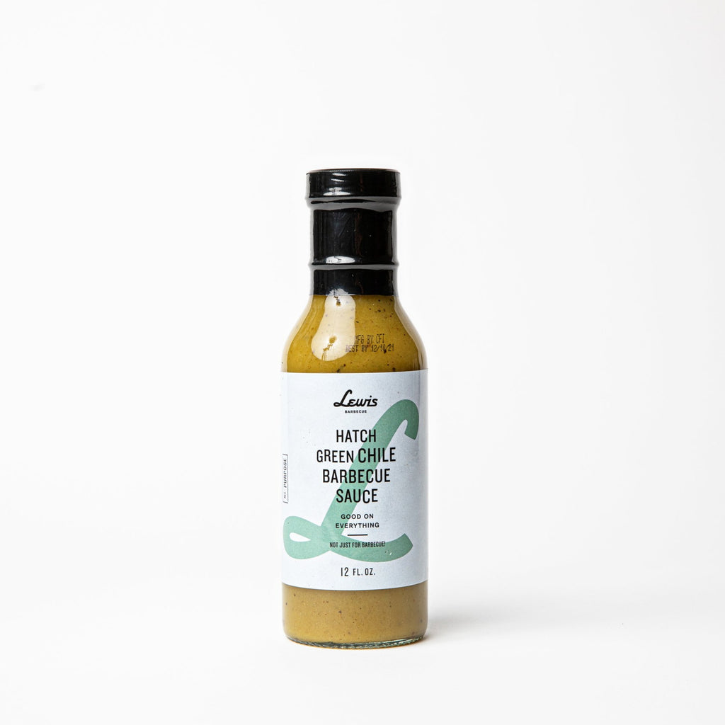 Hatch Green Chile Barbecue Sauce - Lewis Barbecue