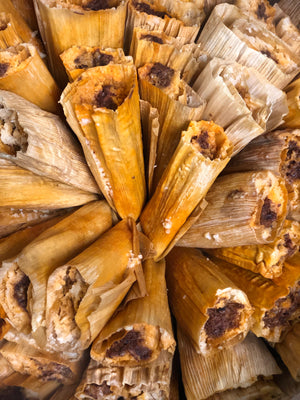 Red Chile Brisket Tamales (Pickup)