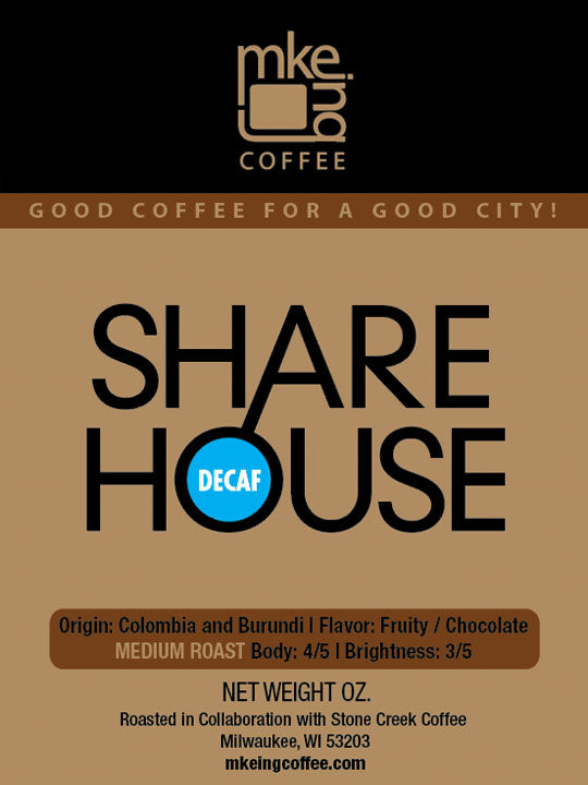DECAF Sharehouse Medium Roast