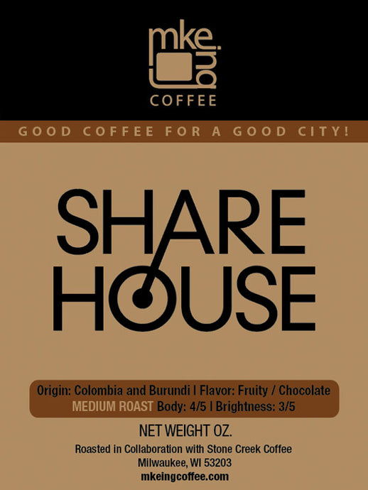 Sharehouse Medium Roast