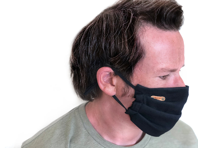 Super Soft Everyday Mask - Black/Olive
