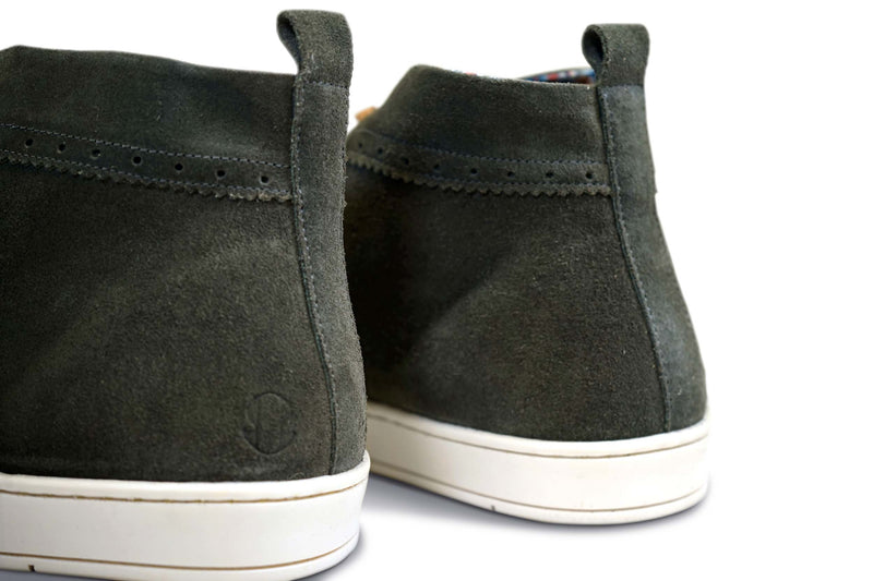 First Love: Casual Suede Chukka