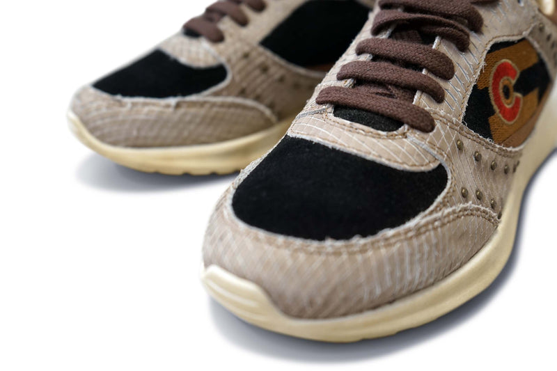 Country Road: Premium Leather & Suede Sneaker