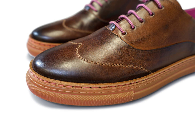 The SweetWater: Premium Leather Oxford
