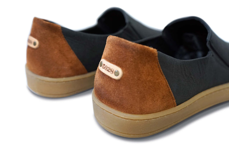 Reprise: Upcycled Leather Slip On