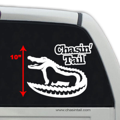 Alligator Vinyl Decal