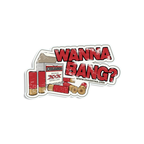 Wanna Bang Sticker