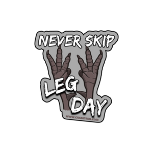 Leg Day Sticker