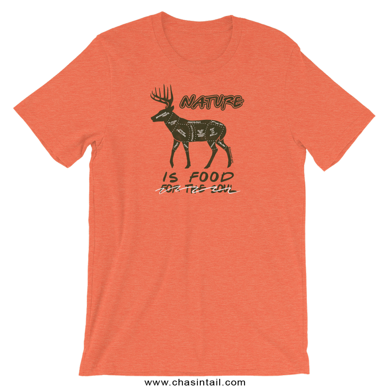 NEW Nature is Food Whitetail Tee