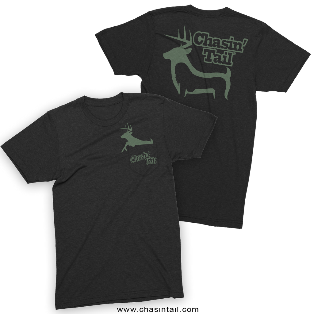 NEW Whitetail Faux Pocket Tee