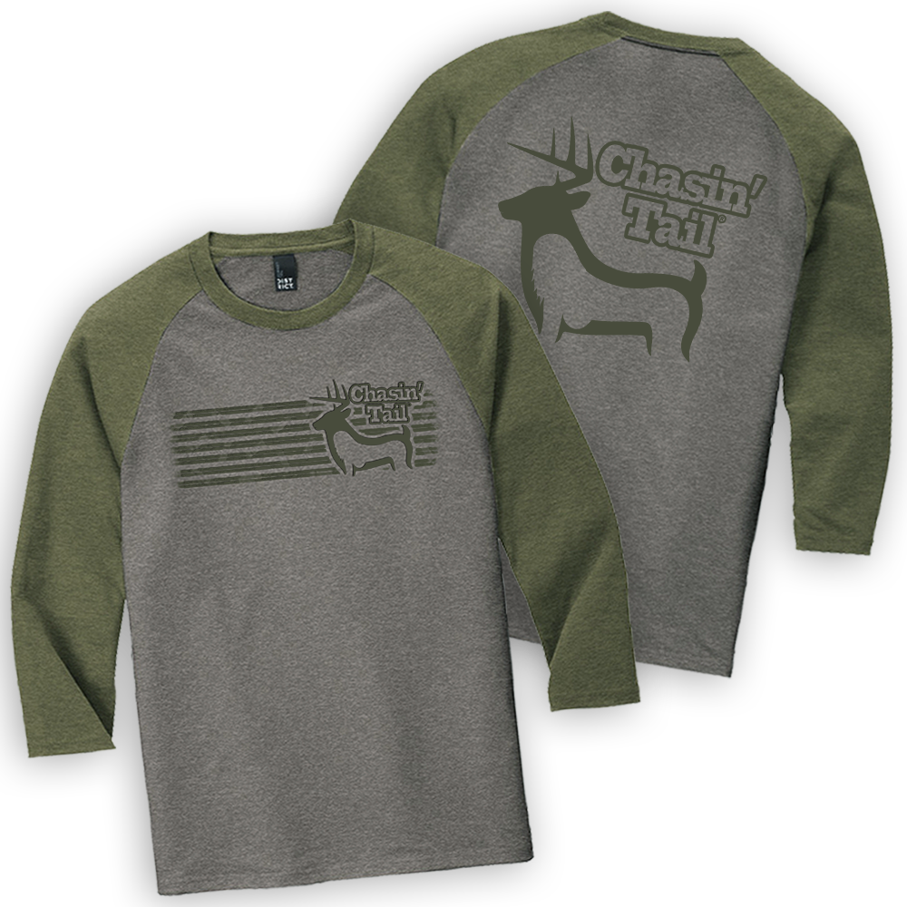 NEW Whitetail Baseball Tee