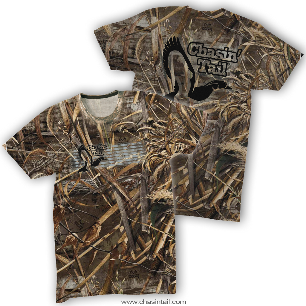 NEW Wood Duck Camo Tee