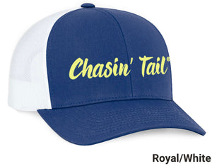 Chasin' Tail Text Hat
