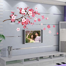 Beautiful sakura wall living room wall vinyl stickers (Free Delivery)