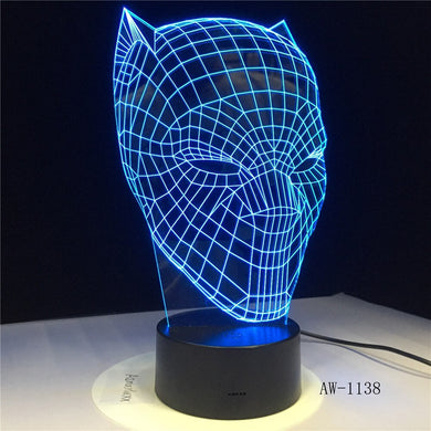 Black Panther Modelling Nightlight (Free Delivery)