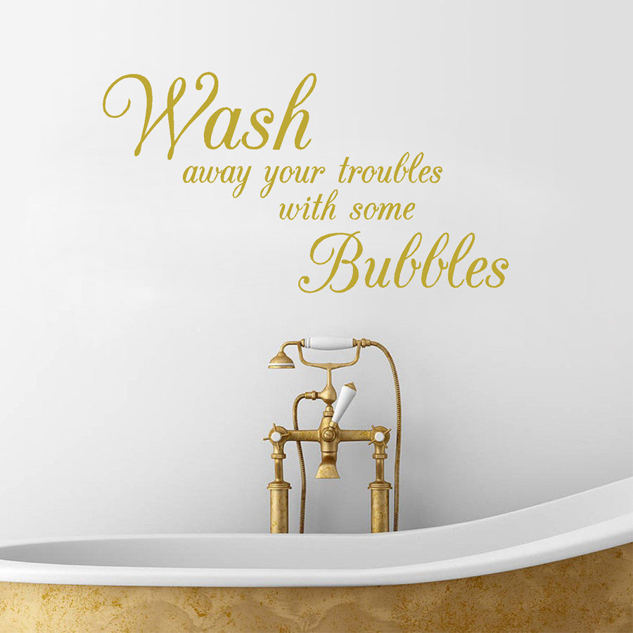 Bathroom waterproof removable wall sticker (Free Delivery)