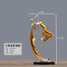 New Family Figurines Lovely Dancer Ornament Home Decoration (Free Delivery)