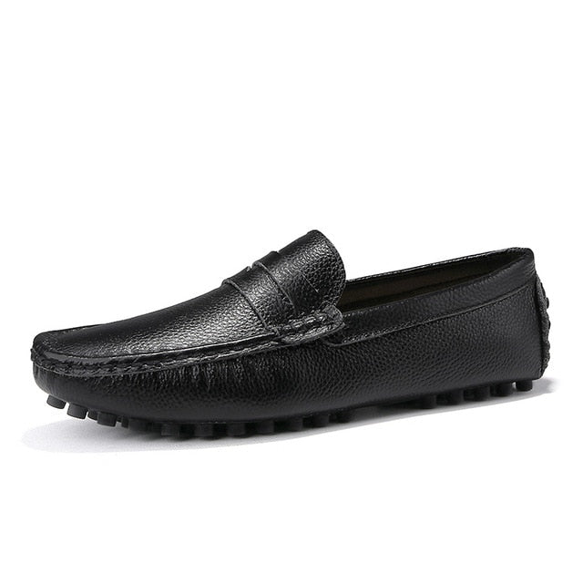 Genuine Leather Men Loafer (Free Delivery)