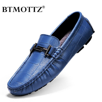 Handmade Genuine Leather Men Loafers (Free Delivery)