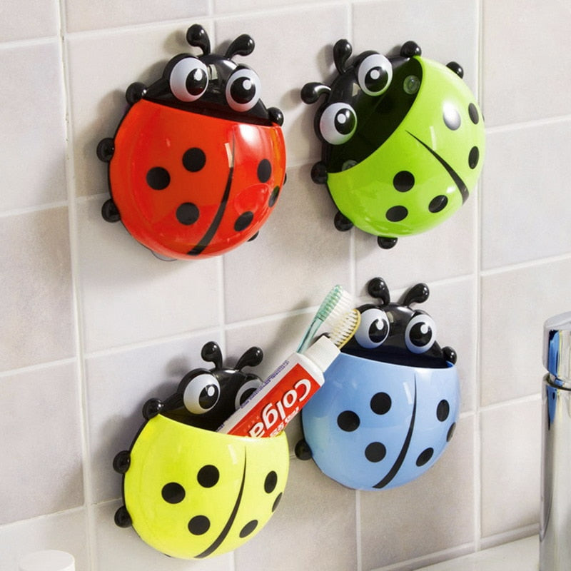 Ladybird Bathroom Toothbrush Holder  (Free Delivery)