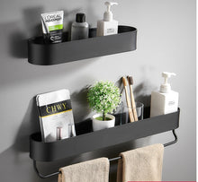 Black Bathroom Shelf 30/40/50 cm (Free Delivery)