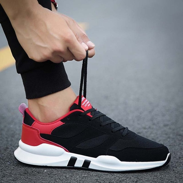 Men breathable jogging Sneakers (Free Delivery)