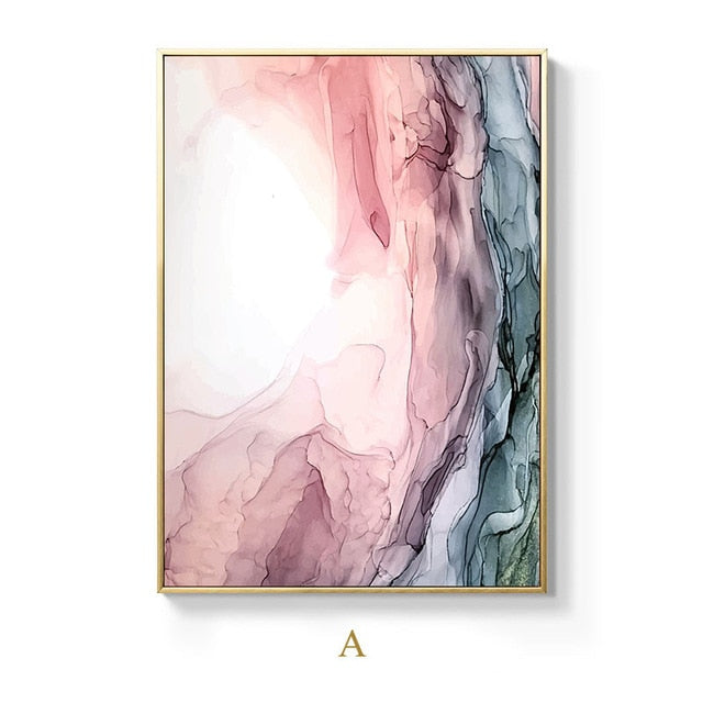 Modern Abstract Cloud Canvas Painting (Free Delivery)