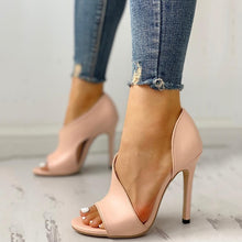 Ankle Strap High Heels Sandals (Free Delivery)