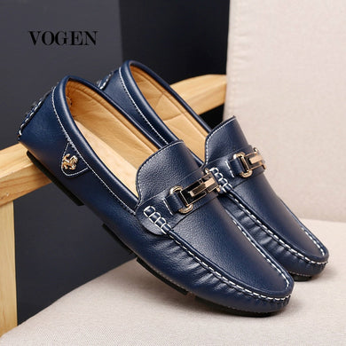 Casual Leather Men Loafers